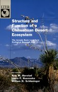 Cover for Structure and Function of a Chihuahuan Desert Ecosystem