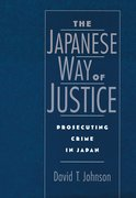 Cover for The Japanese Way of Justice