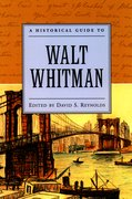 Cover for A Historical Guide to Walt Whitman