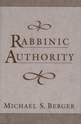 Cover for Rabbinic Authority