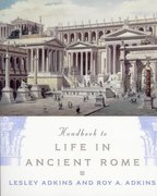 Cover for Handbook to Life in Ancient Rome