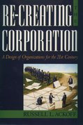 Cover for Re-Creating the Corporation