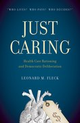 Cover for Just Caring