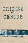 Cover for Origins of Genius