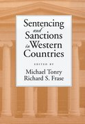 Cover for Sentencing and Sanctions in Western Countries