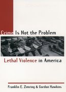 Cover for Crime Is Not the Problem