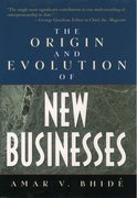 Cover for The Origins and Evolution of New Businesses