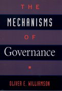 Cover for The Mechanisms of Governance