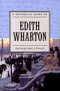 Cover for A Historical Guide to Edith Wharton