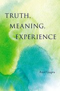 Cover for Truth, Meaning, Experience