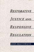Cover for Restorative Justice and Responsive Regulation