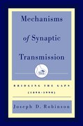 Cover for Mechanisms of Synaptic Transmission