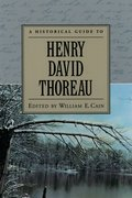 Cover for A Historical Guide to Henry David Thoreau
