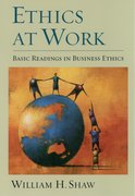 Cover for Ethics at Work