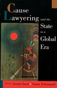 Cover for Cause Lawyering and the State in a Global Era