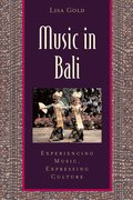 Cover for Music in Bali
