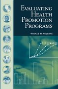 Cover for Evaluating Health Promotion Programs