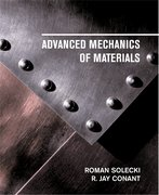 Cover for Advanced Mechanics of Materials