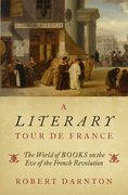 Cover for A Literary Tour de France - 9780195144512