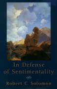 Cover for In Defense of Sentimentality