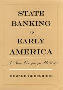 Cover for State Banking in Early America