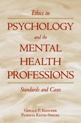 Cover for Ethics in Psychology and the Mental Health Professions