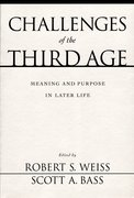 Cover for Challenges of the Third Age