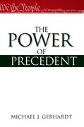Cover for The Power of Precedent