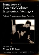 Cover for Handbook of Domestic Violence Intervention Strategies