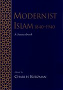 Cover for Modernist Islam, 1840-1940