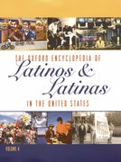 Cover for The Oxford Encyclopedia of Latinos and Latinas in the United States
