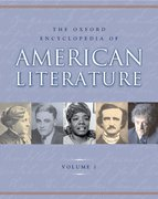 Cover for The Oxford Encyclopedia of American Literature