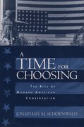 Cover for A Time for Choosing
