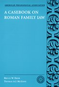 Cover for A Casebook on Roman Family Law