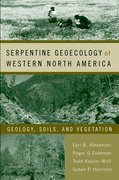 Cover for Serpentine Geoecology of Western North America