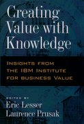 Cover for Creating Value with Knowledge