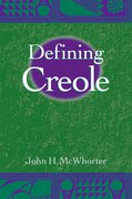 Cover for Defining Creole