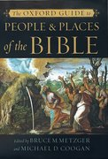 Cover for The Oxford Guide to People and Places of the Bible