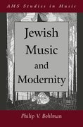 Cover for Jewish Music and Modernity