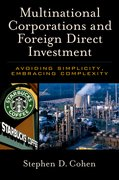 Cover for Multinational Corporations and Foreign Direct Investment