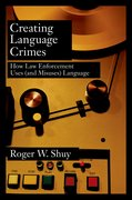 Cover for Creating Language Crimes