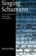 Cover for Singing Schumann