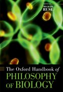 Cover for The Oxford Handbook of Philosophy of Biology