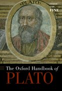 Cover for The Oxford Handbook of Plato