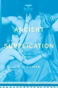Cover for Ancient Supplication
