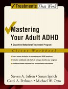 Cover for Mastering Your Adult ADHD: Workbook
