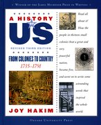 Cover for A History of US: From Colonies to Country: 1735-1791