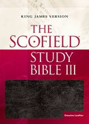 Cover for The Scofield Study Bible III, KJV