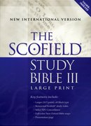 Cover for Scofield® Study Bible III, Large Print, NIV