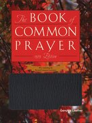 Cover for Book of Common Prayer Personal Genuine Leather Black